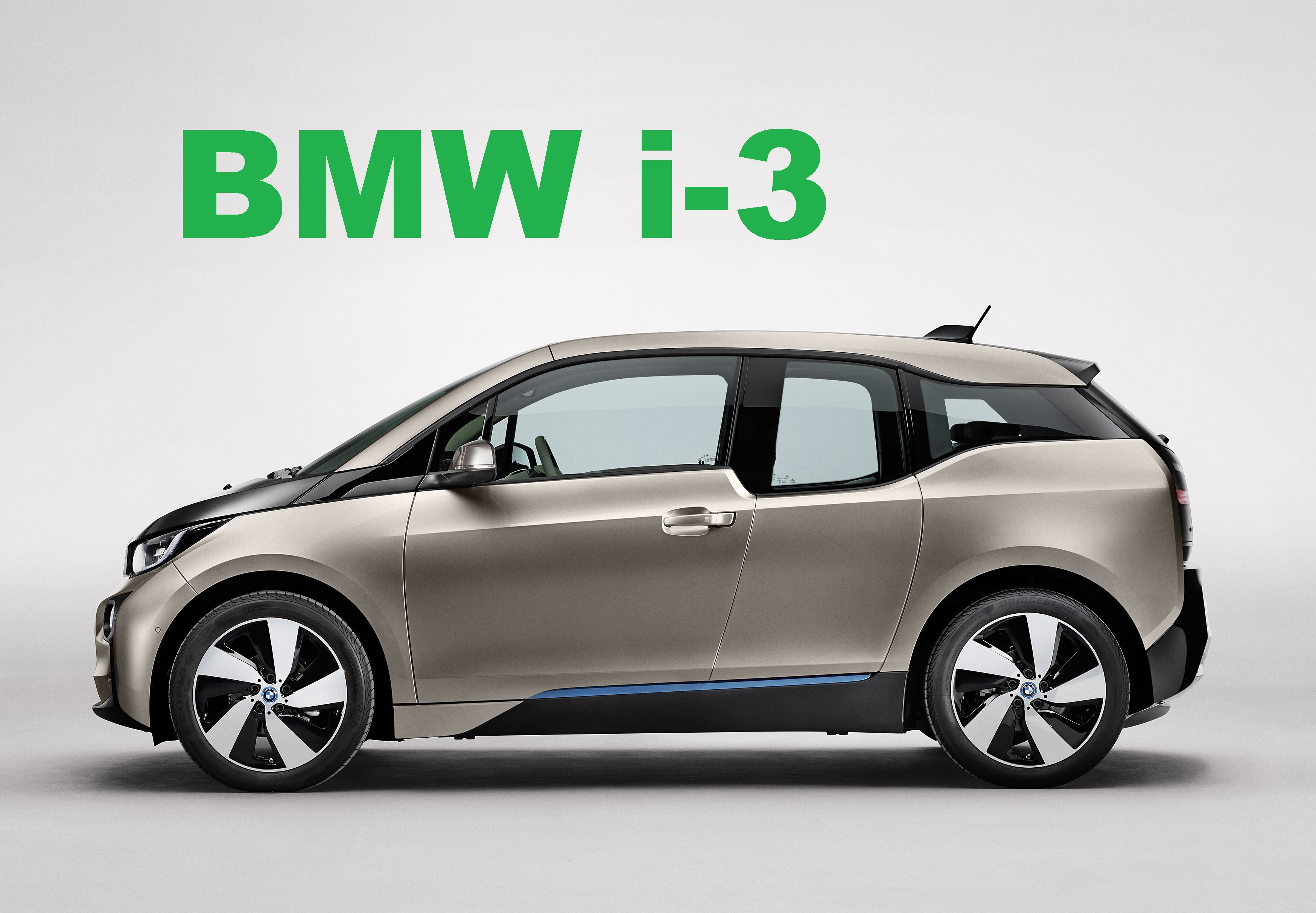 BMW i3 Electric and REX